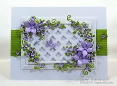 KC Taylored Expressions Arbor Accessories 1 right Making Greeting Cards, Greeting Cards Handmade, Disney Cards, Handmade Card Making, Beautiful Handmade Cards, Heartfelt Creations, Pretty Cards, Paper Flowers, Flower Cards