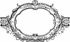 Free Clip Art - Vintage Decorative Frame & Laurel Wreath - http://vintagegraphics.ohsonifty.com/free-clip-art-vintage-decorative-frame-laurel-wreath/