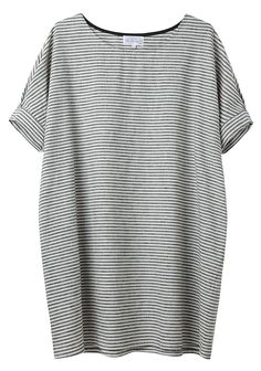Bamboo by United Bamboo  / Striped Baggy Dress