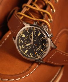Timex + Redwing Chronograph Watch
