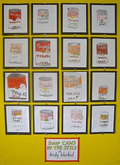 Andy Warhol History and Art project