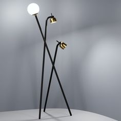 Floor Lamp Tripod - Front Design