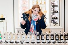 Anna Chlumsky of Veep Sniffs Around Bleecker Street for Gifts