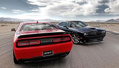 Dodge says there are over 200 possible drive-mode combinations with the 2015 Challenger SRT Hellcat — and the car even comes with a red key fob that unlocks the engine's full potential. Description from chrycoautonewsdigest.com. I searched for this on bing.com/images