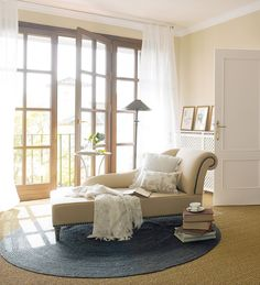Chaise longues Use them to complete the living area or gathering for a reading nook in the bedroom, as here.