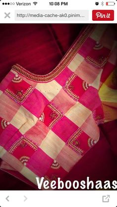 15 Fresh maggam work blouse designs of new season Pattu Saree Blouse Designs, Blouse Designs Silk, Designer Blouse Patterns, Bridal Blouse Designs, Simple Blouse Designs, Stylish Blouse Design, Blouse Models, Machine Embroidery Designs, Hand Embroidery