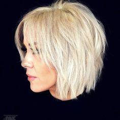 50 Best Female Haircut Style for Short Hair - # Bob Hair # Bob Haircut # Hairstyle # . für kurze Haare 50 Best Female Haircut Style for Short Hair - # Bob Hair # Bob Haircut # Hairstyle # . Short Choppy Haircuts, Haircuts For Fine Hair, Short Bob Hairstyles, Latest Hairstyles, Haircut Short, Short Shaggy Bob, Shag Bob, Trending Hairstyles, Choppy Bob With Fringe