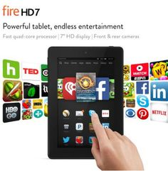 Fire HD 7 Tablet #FathersDayGift #FavoriteFinds