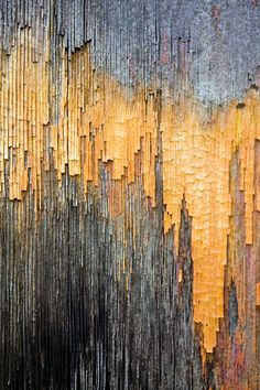 I appreciate the stubbornness of the colors remaining on this aged wood. photo: Michael Chase