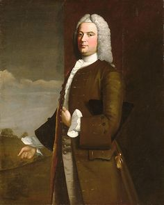Tench Francis  Robert Feke (ca. 1708–ca. 1751)  Date: 1746 Medium: Oil on canvas Dimensions: 49 x 39 in. (124.5 x 99.1 cm) Classification: Paintings Credit Line: Maria DeWitt Jesup Fund, 1934 Accession Number: 34.153
