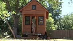 Debt/car-free tiny house couple: simple living + resilience - YouTube