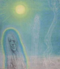 Austin Osman Spare - Astral Body and Ghost (1946)