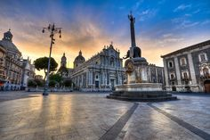Catania, Sicily - Italy! A beautiful place between Mount Etna and the Ionian sea. I loved its hot summer afternoons, gelato, smiles of passers-by on the street, day trips to Taormina, wine-tasting in the villages at the foothill of Etna, and warm evenings with the best pasta for dinner.