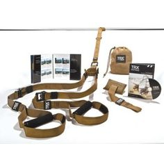 TRX FORCE Kit Product Features Updated TRX Tactical Suspension Trainer (T2 Model)  TRX Door Anchor  Military Fitness Guide  TRX FORCE Training DVD  Mesh Carrying Bag