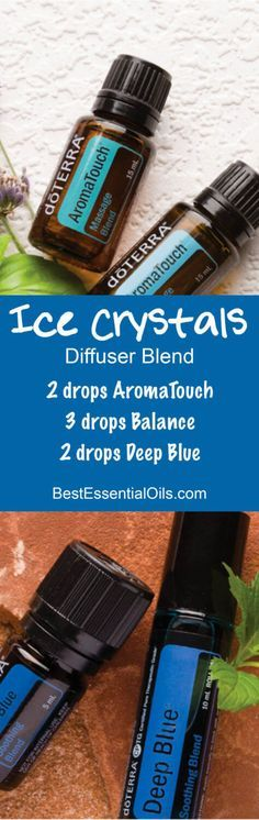 Ice Crystals doTERRA Diffuser Blend