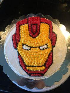 Pastel de Iron man
