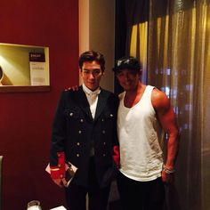 Sarang's Dad With TOP ~ Italian Dinner