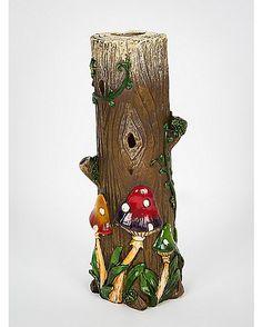 Mushroom Tower Incense Burner - Spencer's