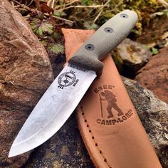 ESEE Camp-Lore Bolieu RB3 Fixed Blade Bushcraft Knife