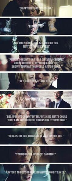 Oh. My. God. I could cry. This is just too much. Klaroline!
