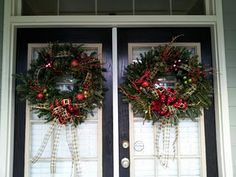 Fun festive wreaths!