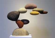 "Woods Davy ""Cantamar"" Sculpture en pierres 107x89x40cmStone : More Pins At FOSTERGINGER @ Pinterest"