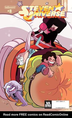 Steven Universe Issue #8 - Read Steven Universe Issue #8 comic online in high quality