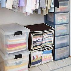 EUR € 13.24 - Caixa de armazenamento 2 grade marrom roupas visíveis (1 peça), Frete Grátis em Todos os Gadgets!