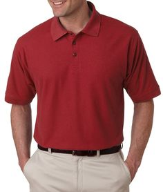 Ultraclub Men's Whisper Pique Polo Shirt ** Remarkable product available now. : Gift for Guys