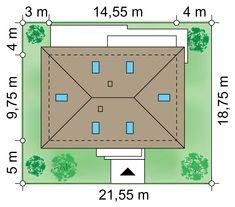 Projekt domu Zacisze IV 107.48 m² - Domowe Klimaty Better Homes, Bar Chart, New Homes, Floor Plans, Log Projects, House, Bar Graphs, Floor Plan Drawing, House Floor Plans