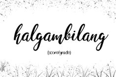 """""""halgambilang"""" 30 Uncommon Filipino Words That You Must Know! Unusual Words, Weird Words, Rare Words, Tagalog Words, Filipino Words, Baybayin, Philippines Culture, Aesthetic Words, Handsome Boys"""
