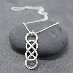 Double Infinity Necklace.