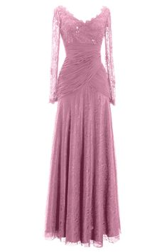 MACloth Women Long Sleeve V Neck Bead Mother of Bride Formal Dress Eve Evening Party, Evening Dresses, Blush Pink Dresses, Glitter Dress, Short Dresses, Formal Dresses, Sweet Dress, Dresses With Sleeves, Special Occasion