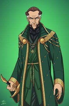 Ras Al Ghul (E27: Enhanced) commission by phil-cho