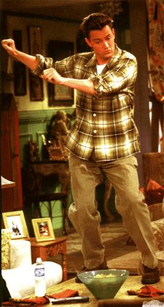 "Chandler Bing (Matthew Perry) in ""Friends"" Serie Friends, Friends Cast, Friends Moments, I Love My Friends, Friends Show, Friends Forever, Friends Trivia, Chandler Bing, Best Tv Shows"