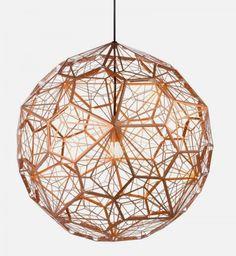 beautiful pentagon lamp