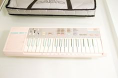 Pink Casio SK-1 Sampling Keyboard    #electronicmusic #synthesizer #instruments #electroacoustic #sound #synthesis