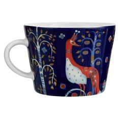 Buy Iittala Blue Taika Mug Online at johnlewis.com