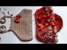 Crochet Dress Girl, Baby Girl Crochet, Crochet Baby Clothes, Knit Crochet, Baby Bikini, Crochet Squares, Coffee Art, Burlap Wreath, Baby Knitting