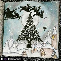 #Repost @talitabettinelli ・・・ Já é Natal em minha Floresta Encantada…