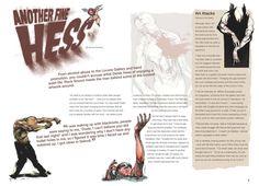 Magazine spread - Hess by Obsidian-Design