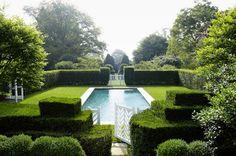 If Heaven has a pool... via Habitually Chic®