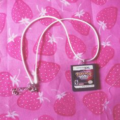 Pokemon pearl necklace on Etsy, $4.00