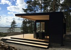 Portable Steam Sauna - We Answer All Your Questions! Tiny House, Rest House, Modern Saunas, Sauna House, Outdoor Sauna, Sauna Design, Container Home Designs, Modern Shed, Black House Exterior