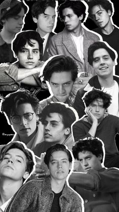 cole sprouse and lockscreen image