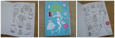 Knutselboek boordevol mode, dat is Jills Modemeisjes. Zes modellen als paspop en zes verschillende kledingstijlen. Mix & Match en geef de mooiste modeshow!
