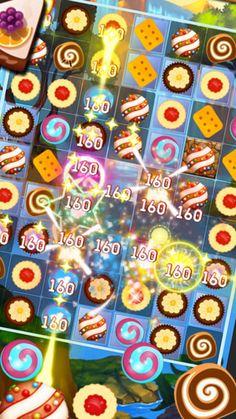 https://itunes.apple.com/us/app/cookie-star/id1173130915 #cookie #candy #cookiecrush #bakerypuzzle #crunch #cookiesmash #cookiestar #cookieblast #cakejam #deliciouscooking 1