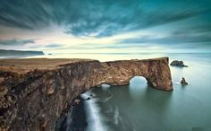 Arch of Dyrholaey Vik Iceland Nature Preserve