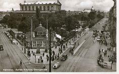Hannover Kröpcke. Postkarte zeigt den Zustand vor 1943 | by evioletta