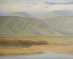 Sarah Vedder (b. 1946) - Contemporary Tonalist Landscape Painter of California